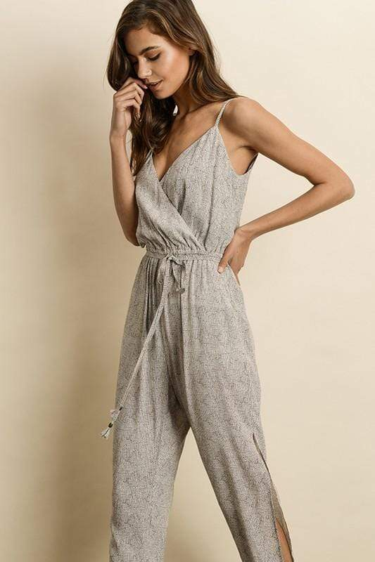 Bohdi Jumpsuit IvoryBrown