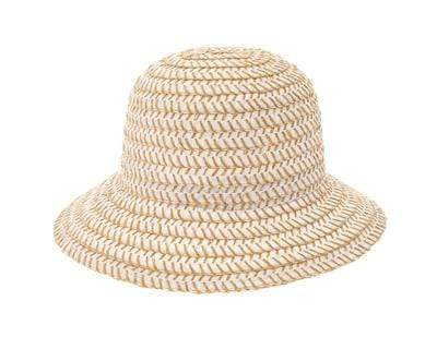 Dynamic Asia Hat One Size / White / 1860-WHITE Wyatt Straw Hat White