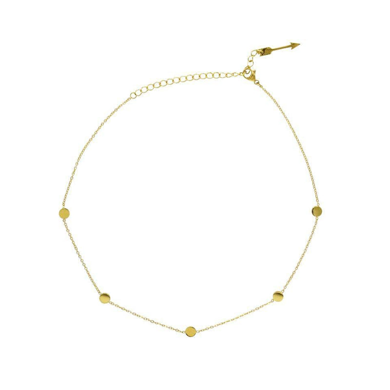 Ellie Vail Necklace One Size / Gold / 1109 Misha Choker