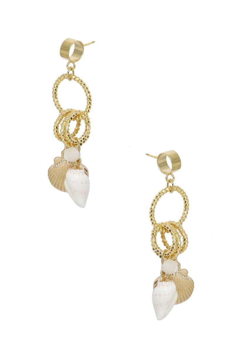 Ettika Earring One Size / Gold / E1045G Shore Earrings Gold