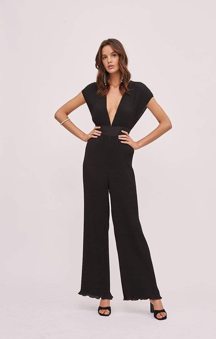 Finders Keepers Dress Adeline Jumpsuit Black
