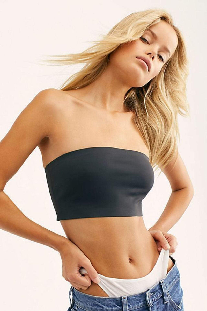 Free People Bra Nina Bandeau Black