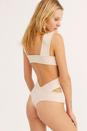 Free People Bra Oh She's Strappy Bodysuit Rose