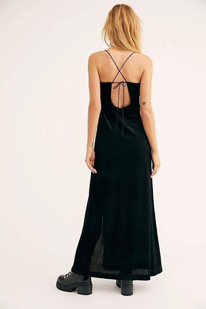 All I Need Maxi Dress Black