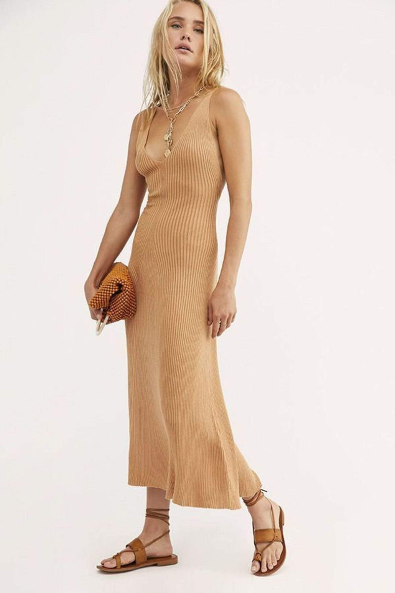 Free People Dress Sweet As Honey Slip Dress Copper