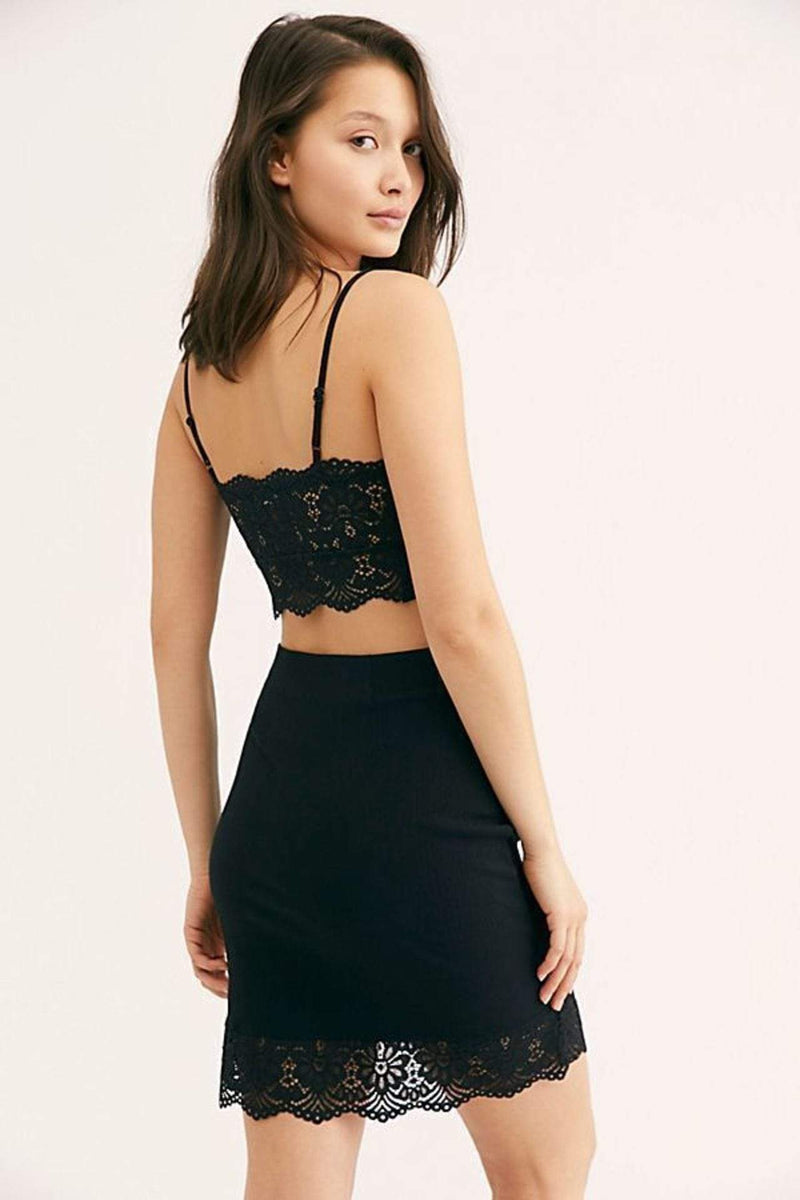 Free People Skirt Small / Black / OB960391 Va Va Voom Skirt Black