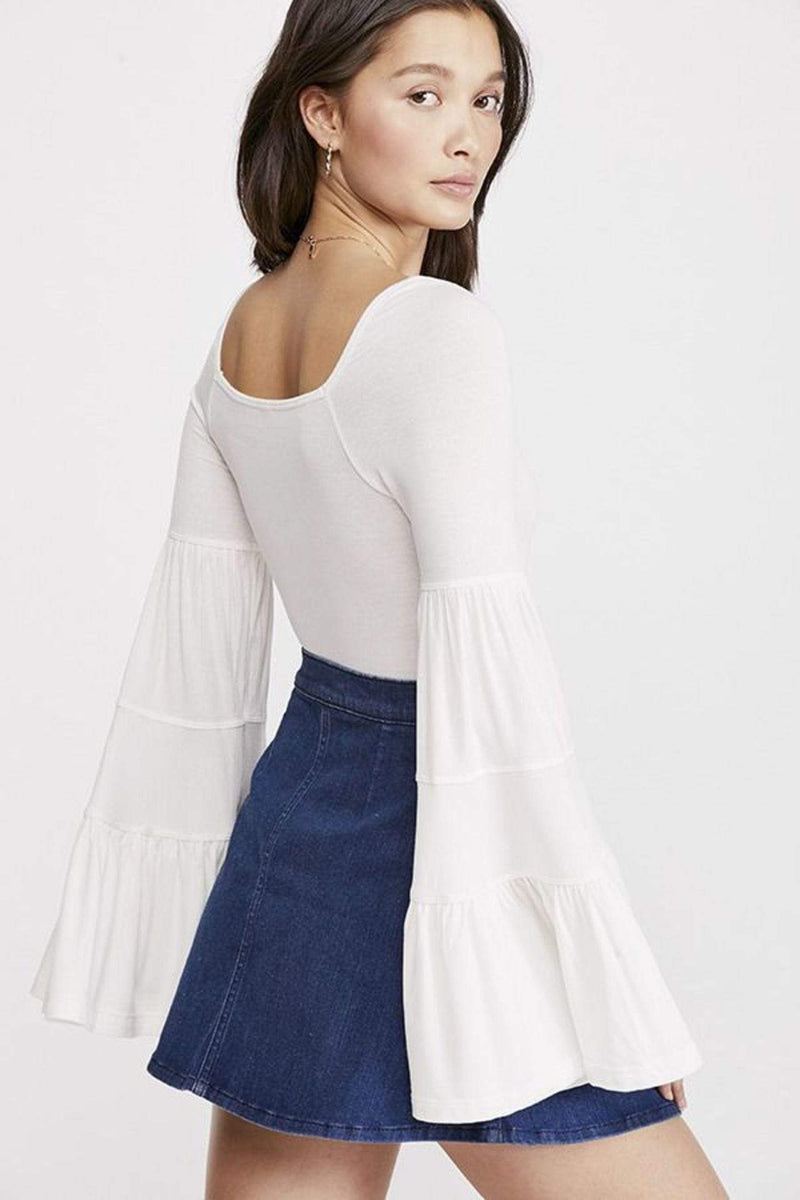 Free People Tops Blouse Babetown Top Ivory