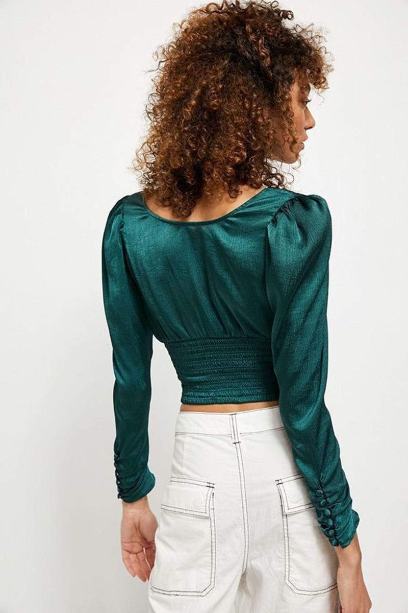 Santiago Blouse Green