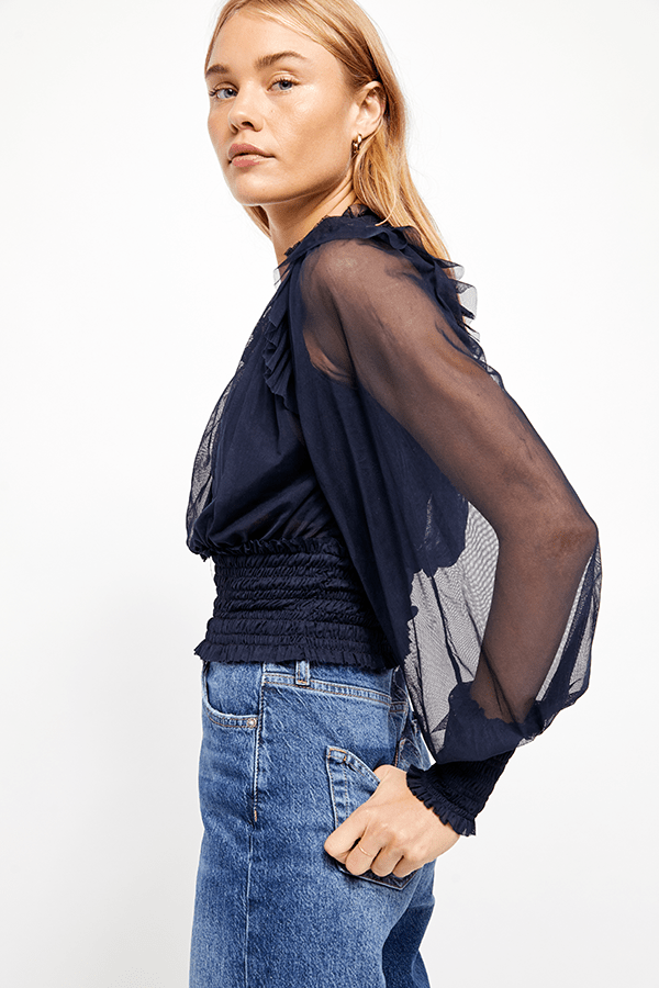 Twyla Top Navy