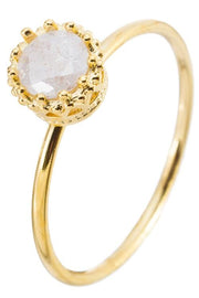 Girly Ring One Size / Gold / GR1036GDWT7 Ice Queen Ring