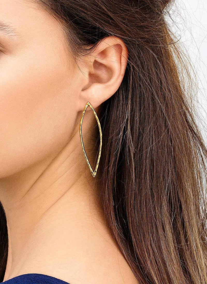 Gorjana Earring One Size / Gold / 175-003 Dylan Drop Earrings