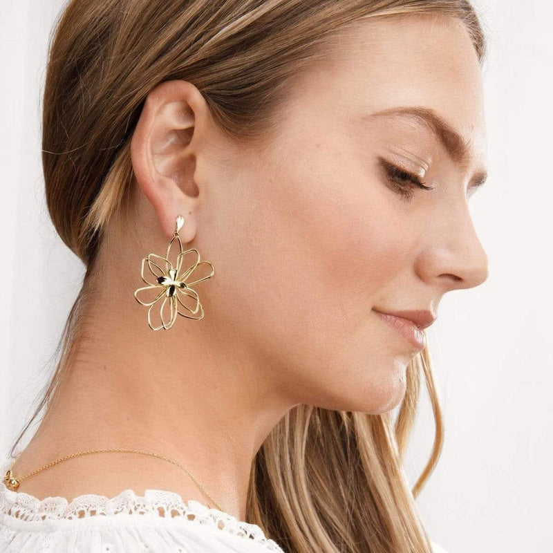 Aven Earrings Gold