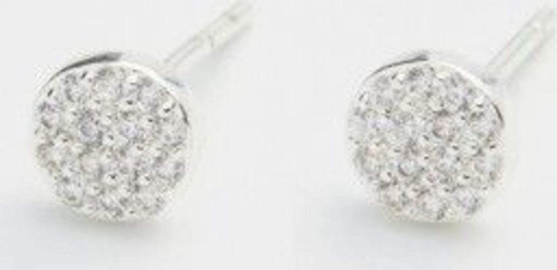Gorjana Earring One Size / Silver / 1810-026-02-G Pristine Charm Shimmer Studs