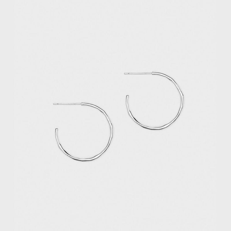 Gorjana Earring One Size / Silver / 193-009-S Taner Small Hoops Silver
