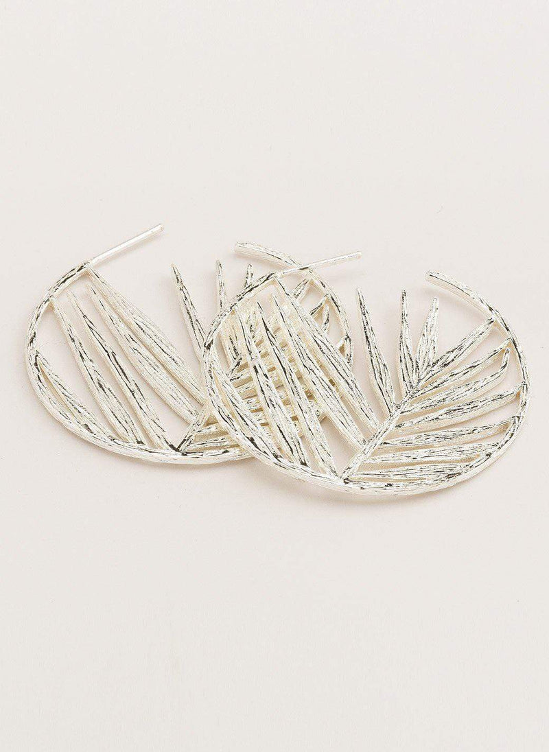 Gorjana Earring Palm Profile Hoops