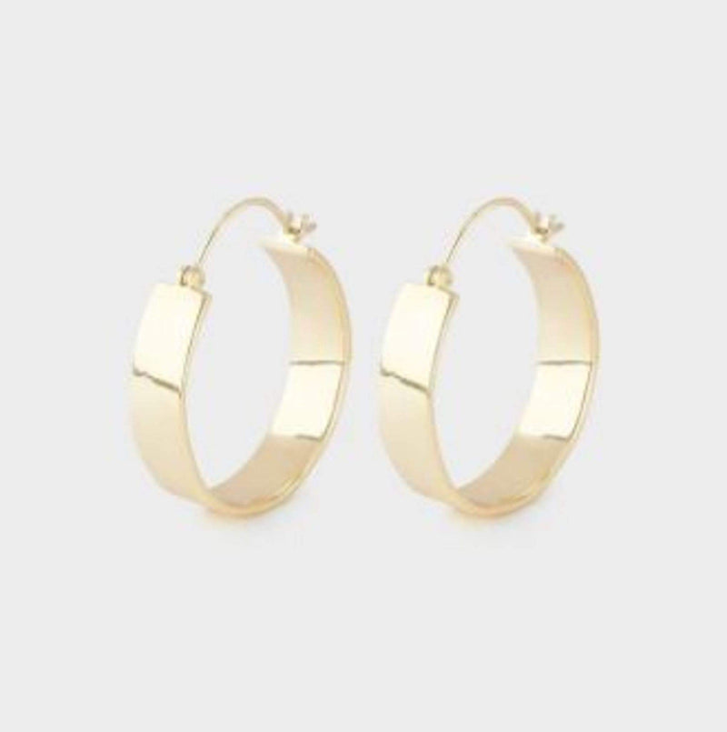 Jax Small Hoops Gold