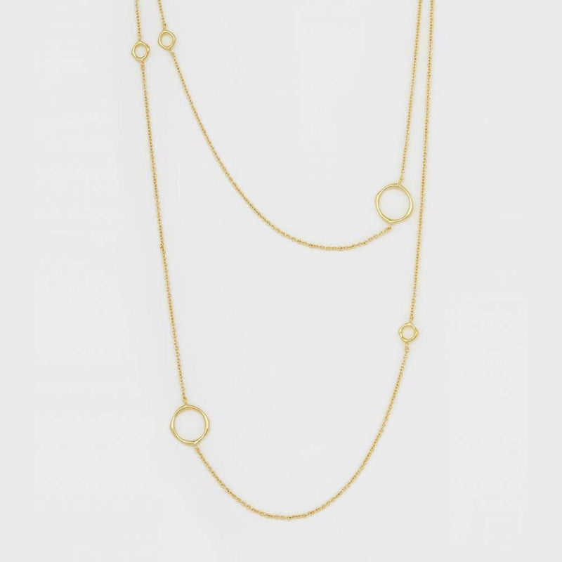 Gorjana Necklace One Size / Gold / 188-105-G Quinn Delicate Wrap Necklace Gold