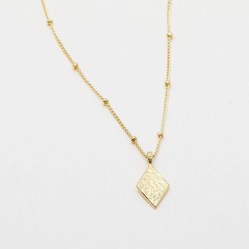 Cortez Diamond Necklace Gold