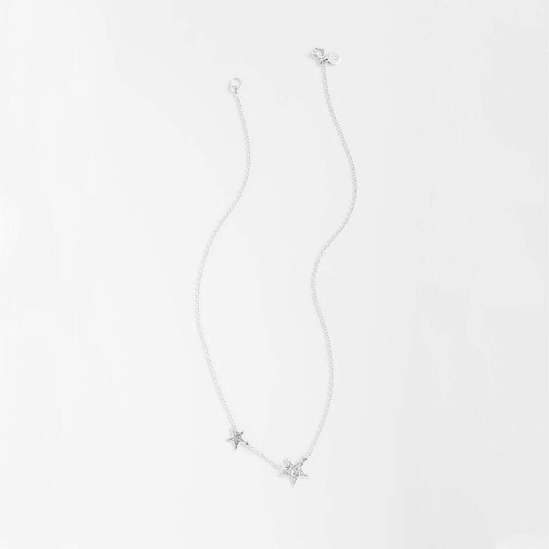 Gorjana Necklace One Size / Silver / 061-159-S Super Star Necklace Silver