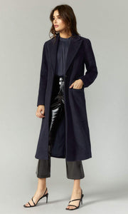 GREYLIN Jacket Ona Brushed Slim Coat Dark Navy