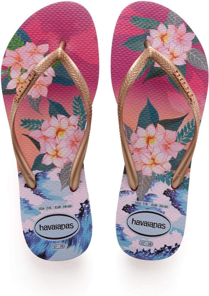 Slim Tropical Sunset Sandal