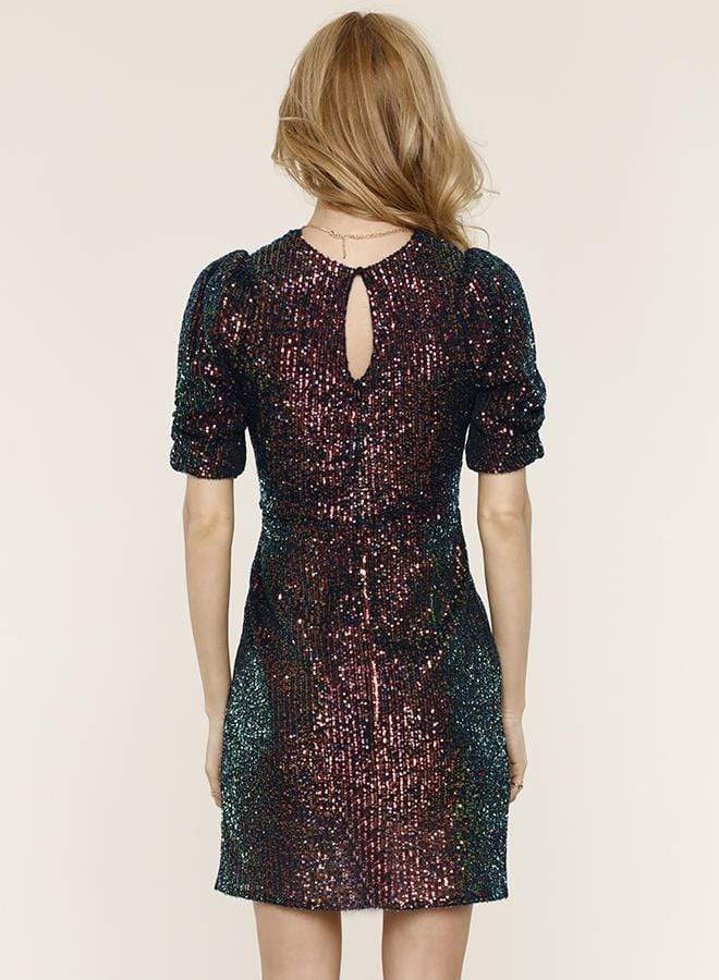 Felix Iridescent Sequin Dress Multi