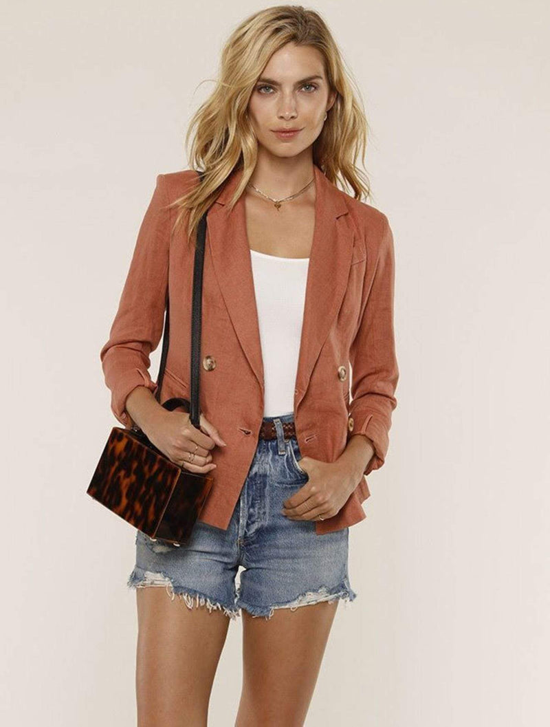 HeartLoom Jacket Medium / Clay / 190U38B Jax Blazer Clay