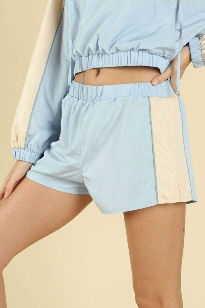 Honey Punch Shorts Small / Baby Blue / 8IP1121H-1 Emma Short Baby Blue