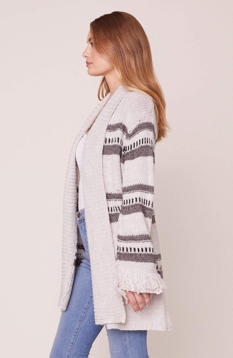 Jack / BB Dakota Sweater Fringe Theory Cardigan Oatmeal