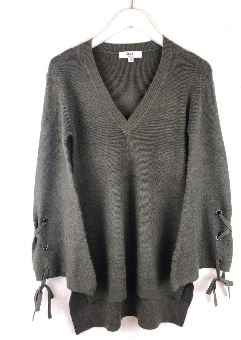Jack / BB Dakota Sweater Small / Olive / JI406426 Sleeve It To Me Sweater Olive