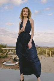 JETSET Diaries Dress Lourve Maxi Dress Blue Iris