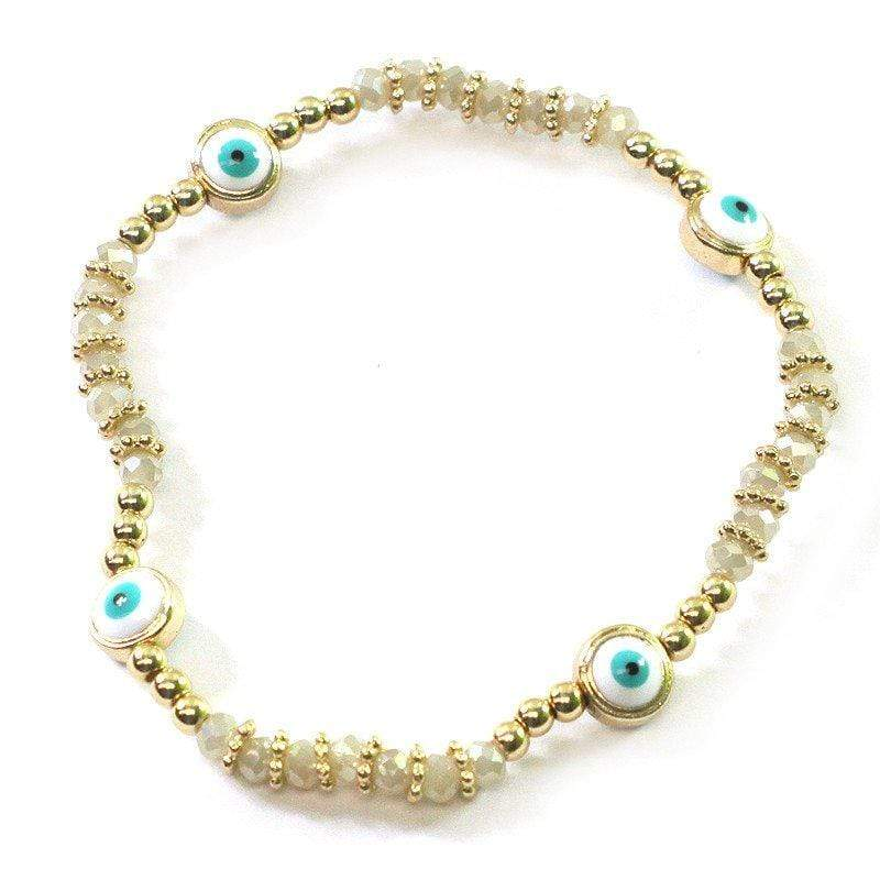 Mini Evil Eye Stretch Bracelet
