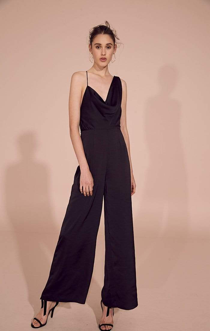 Keepsake Dress Romance Jumpsuit Black