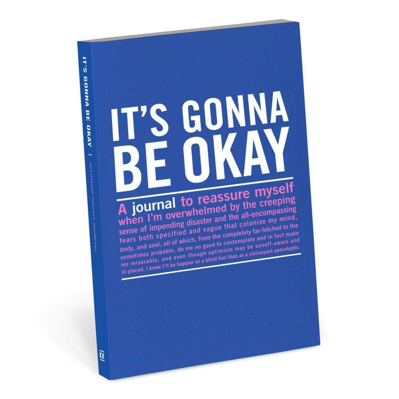 Knock Knock Gift One Size / Multi / 50079 It's Gonna Be Okay Mini Inner-Truth Journal