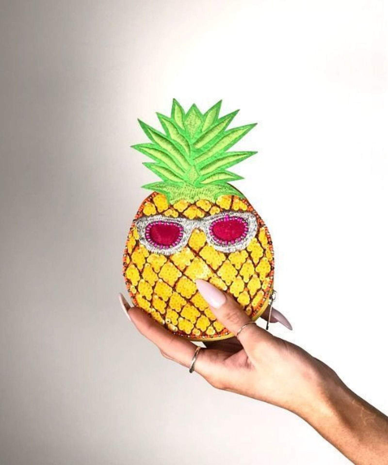 Pineapple Pouch Yellow