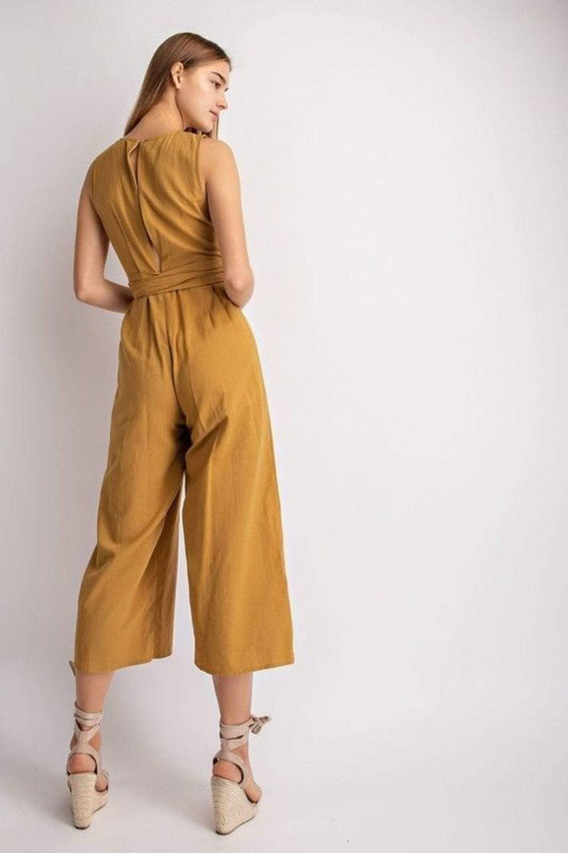 Le Lis Dress Claire Jumpsuit Mustard