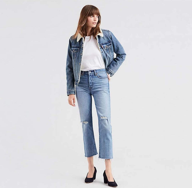 In Two Minds Wedgie Straight Denim