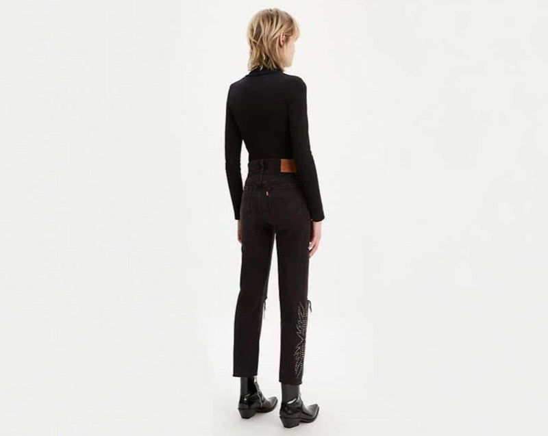 Levi Denim Size 24 / Black / 36200-0070 501® Crop Canyon Black