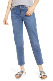 Levi Denim Size 24 / Medium Blue / 22861-0058 Charleston Moves Wedgie Icon Denim