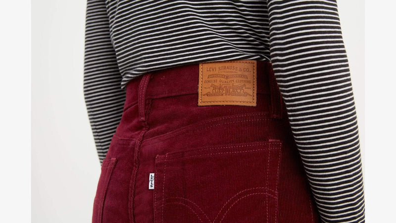 Wedgie Straight Shiraz Corduroy