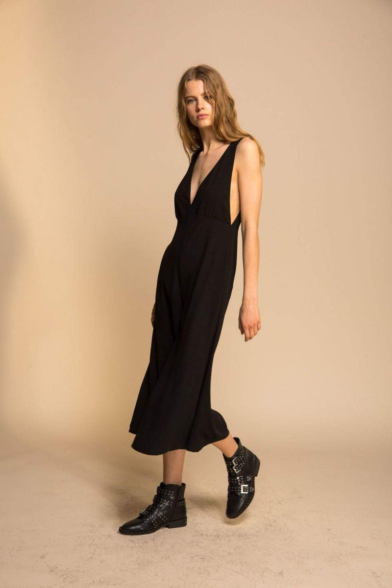 Line and Dot Dress Elisa Culotte Jumpsuit