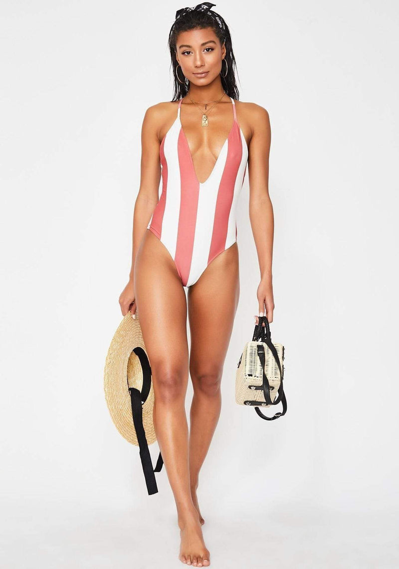 Lira Swim Medium / Red Ochre / LS1005 Tropez Reversible Swim Suit