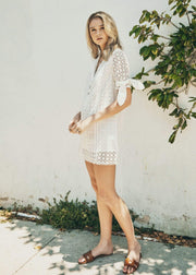 Lost + Wander Dress Living The Dream Mini Dress White