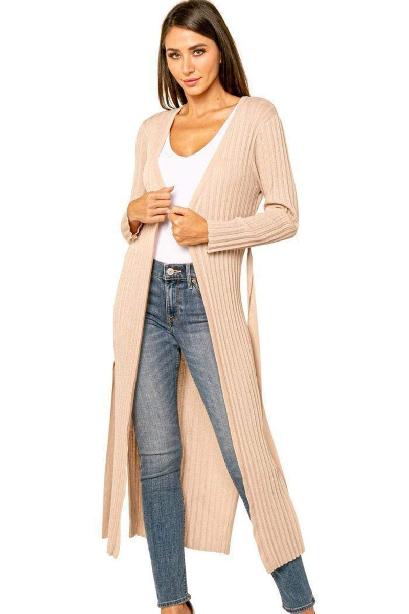 Love Token Sweater Liam Duster Cardigan Beige