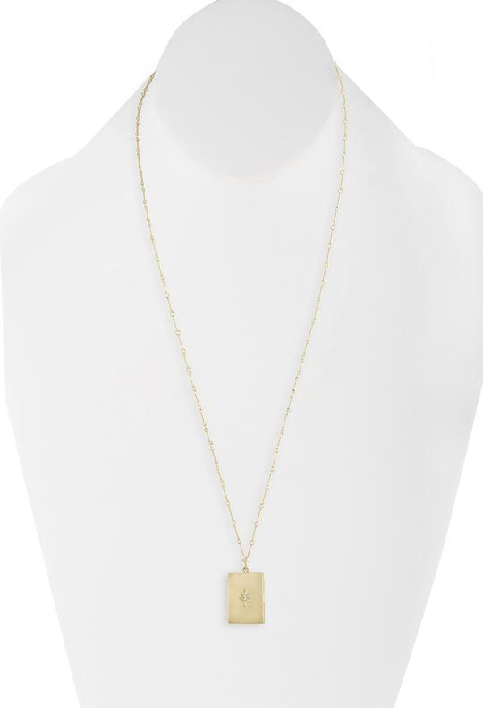 Lulu DK Necklace One Size / Gold / 1194GPB Poppy Locket Necklace