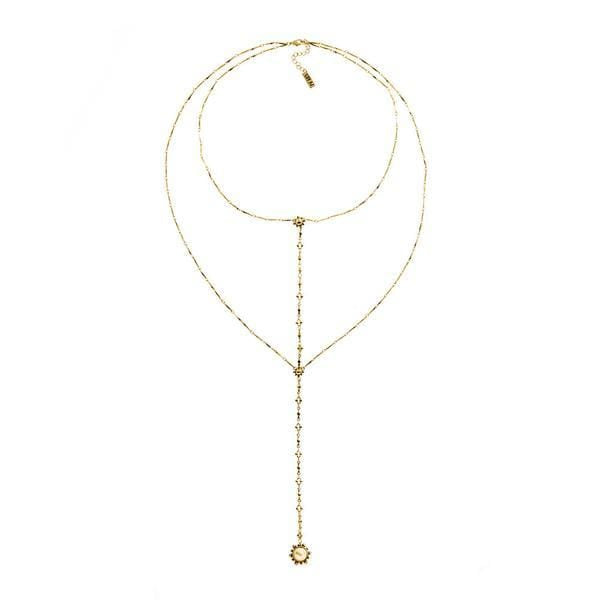 Luv Aj Earring One Size / Gold / HOL16N-VL Versailles Lariat