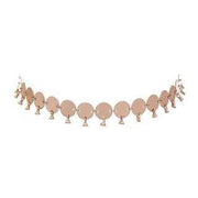 Luv Aj Necklace One Size / Rose Gold / HOL17N-DDC-RG Dangle Disco Choker Rose Gold