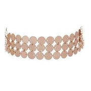 Luv Aj Necklace One Size / Rose Gold / HOL17N-TDFC-RG Triple Disco Fever Choker Rose Gold