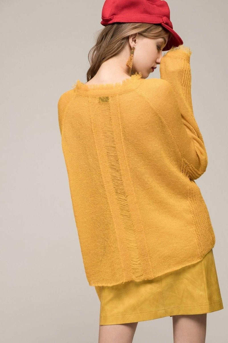 Moon River Sweater Faye Sweater Marigold
