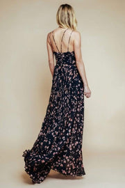 Olivaceous Dress Peony Blossom Maxi Dress Multi